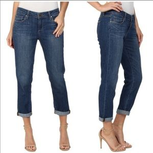 PAIGE Jimmy Jimmy Crop Jeans in Frances Wash